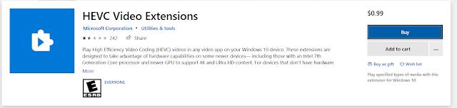 hevc video extension free