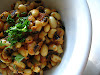 Black-Eyed Peas with Mustard, Cumin and Curry Leaves
