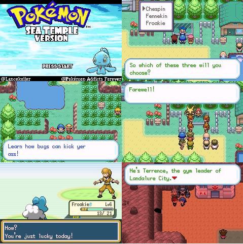 Pokemon Sea Temple GBA ROM Download