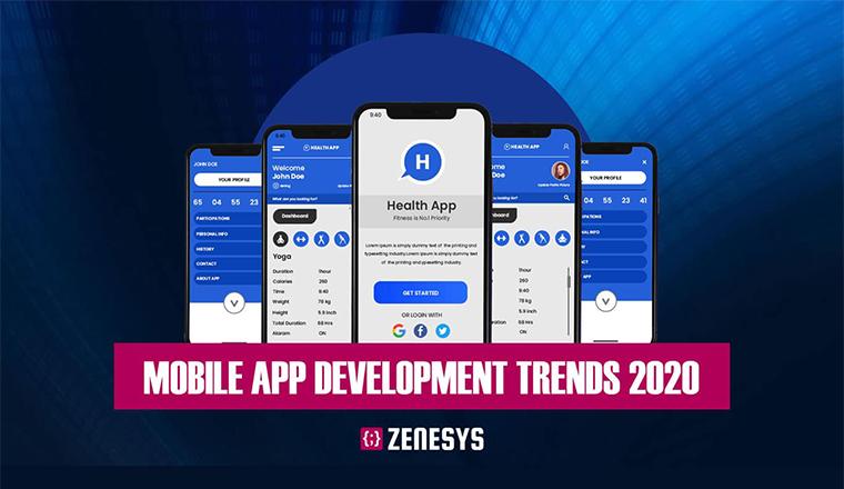 Mobile App Development Trends 2020 #infographic
