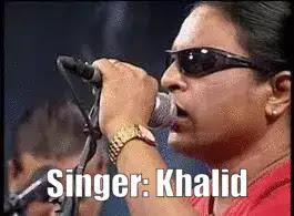 Singer Khalid Bangladesh