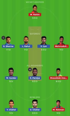 Bangladesh tour of India 2019