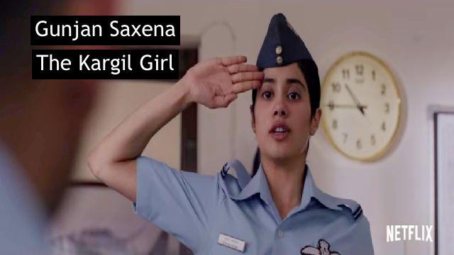 Gunjan Saxena The Kargil Girl Full Movie Download Leaked By Filmyzilla, Filmywap, Tamilrockers  720p Watch Online