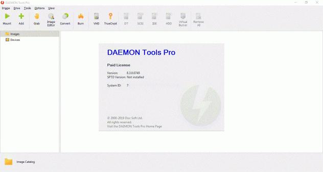 Screenshot DAEMON Tools Pro 8.3.0.0749 Full Version