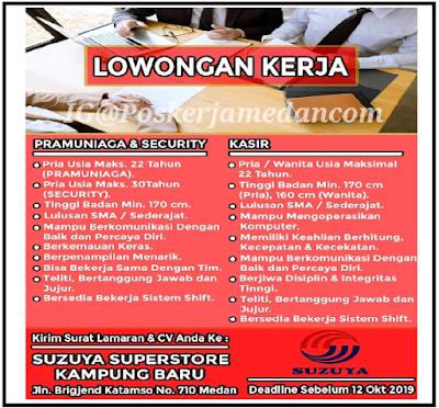 Lowker Medan SMA Oktober 2019 SUZUYA