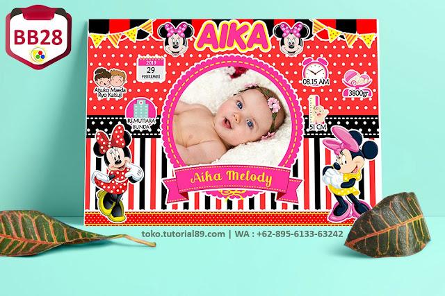 Biodata Bayi Costume Boy Girl Kode BB28   Mickey Mouse