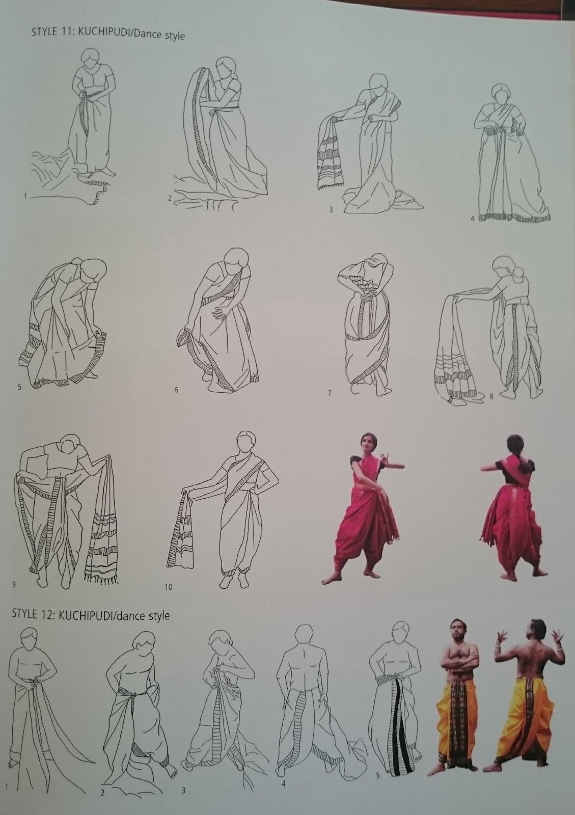 Dance Notes Dance Costumes Vs Sarees