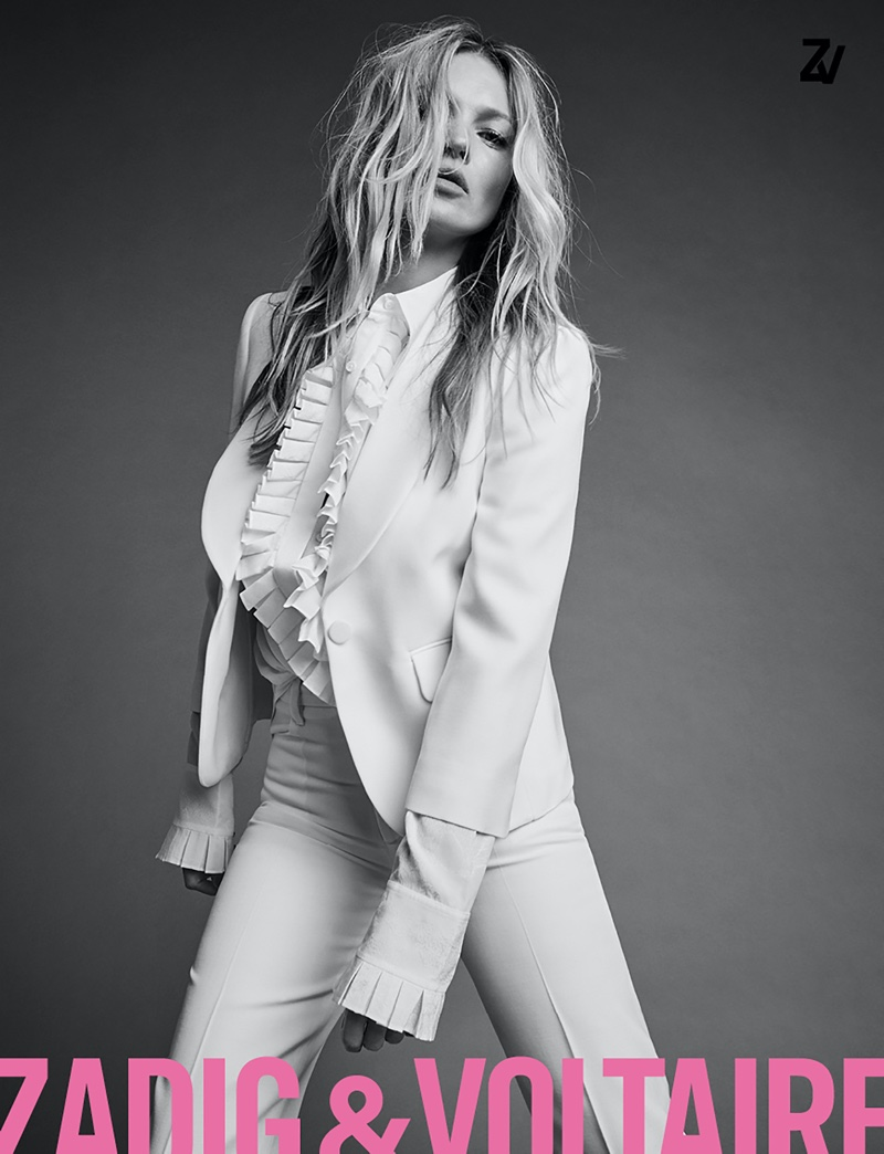 Zadig & Voltaire taps Kate Moss for spring-summer 2020 campaign
