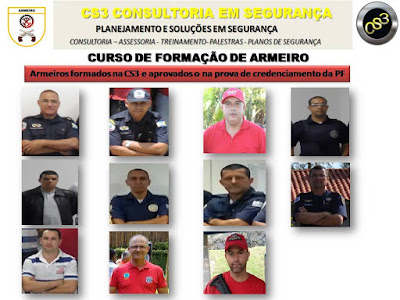 Guardas Municipais credenciados como Armeiros na Policia Federal