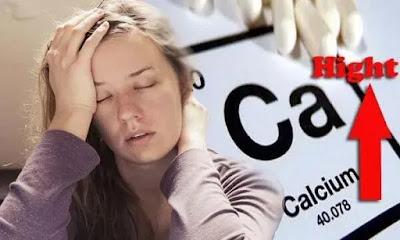 اسباب ارتفاع الكالسيوم في الدم