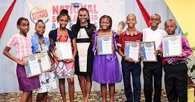 Black student recipients of the Burger King Scholars program