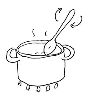jam making by Yukié Matsushita