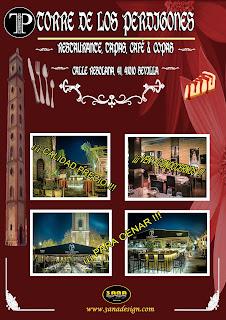 cartel de restaurante