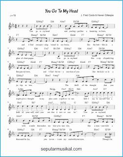 chord you go to my head 1 lagu jazz standar