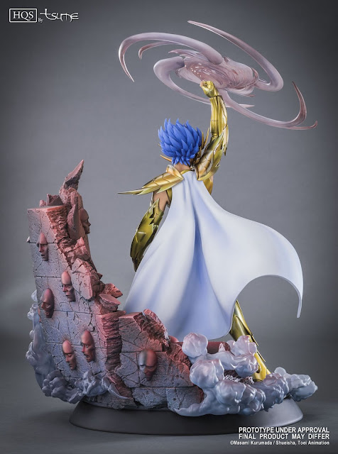 Cancer Deathmask HQS de Saint Seiya - Tsume Art