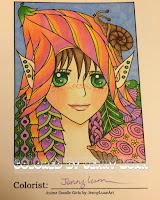 Anime doodle girl v1