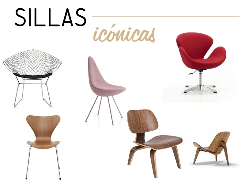 sillas ic nicas de dise o decoracion