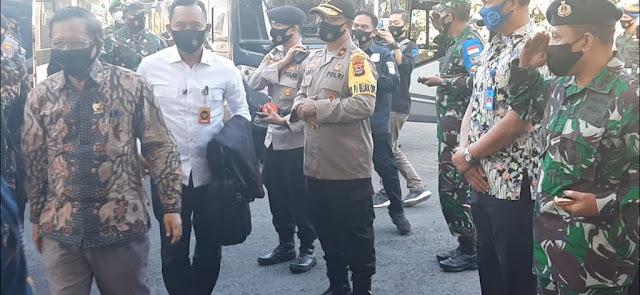 Apresiasi Danlanal Mataram Dalam Rangka Kunjungan Menkopolhukam Ke NTB