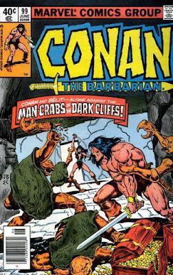Conan the Barbarian #99, Man-Crabs