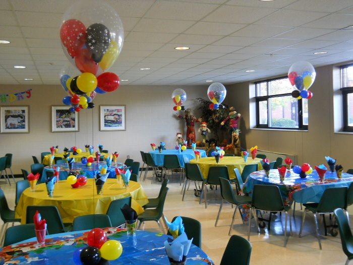 Celebrate The Day Mickey Mouse themed 1st Birthday Party Decorations
