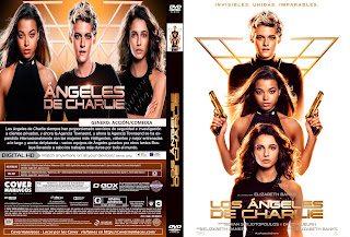 CARATULA LOS ANGELES DE CHARLIE-CHARLIE'S ANGELS 2019[COVER DVD]