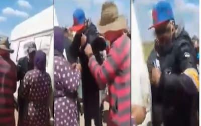 """بالفيدو: فضيحة عون سلطة """"يبيع"""" قفف رمضان التي أمر بها الملك بـ20 و50 درهم و مطالب عاجلة بالتحقيق !"""