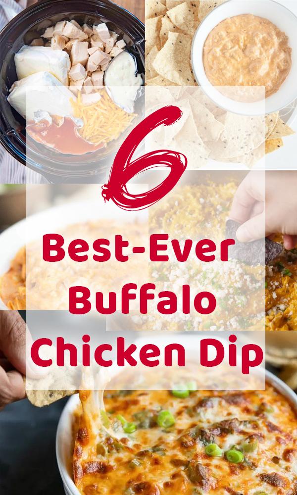 6 Best-Ever Buffalo Chicken Dip