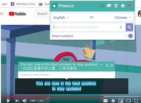 Ekstensi Chrome Untuk Terjemahan Subtitle YouTube-3