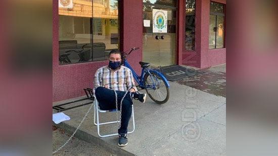 prefeito palmas acorrenta cgu provar inocencia
