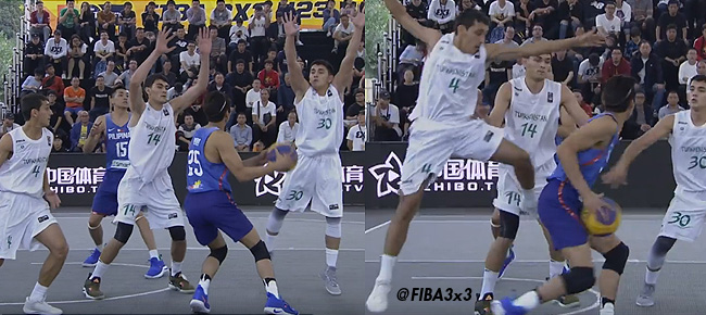 Ricci Rivero FAKES Out the Entire Turkmenistan Team (VIDEO)