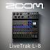 Introducing Zoom LiveTrak L-8 Digital Mixer-Multitrack Recorder with 6 Mic...