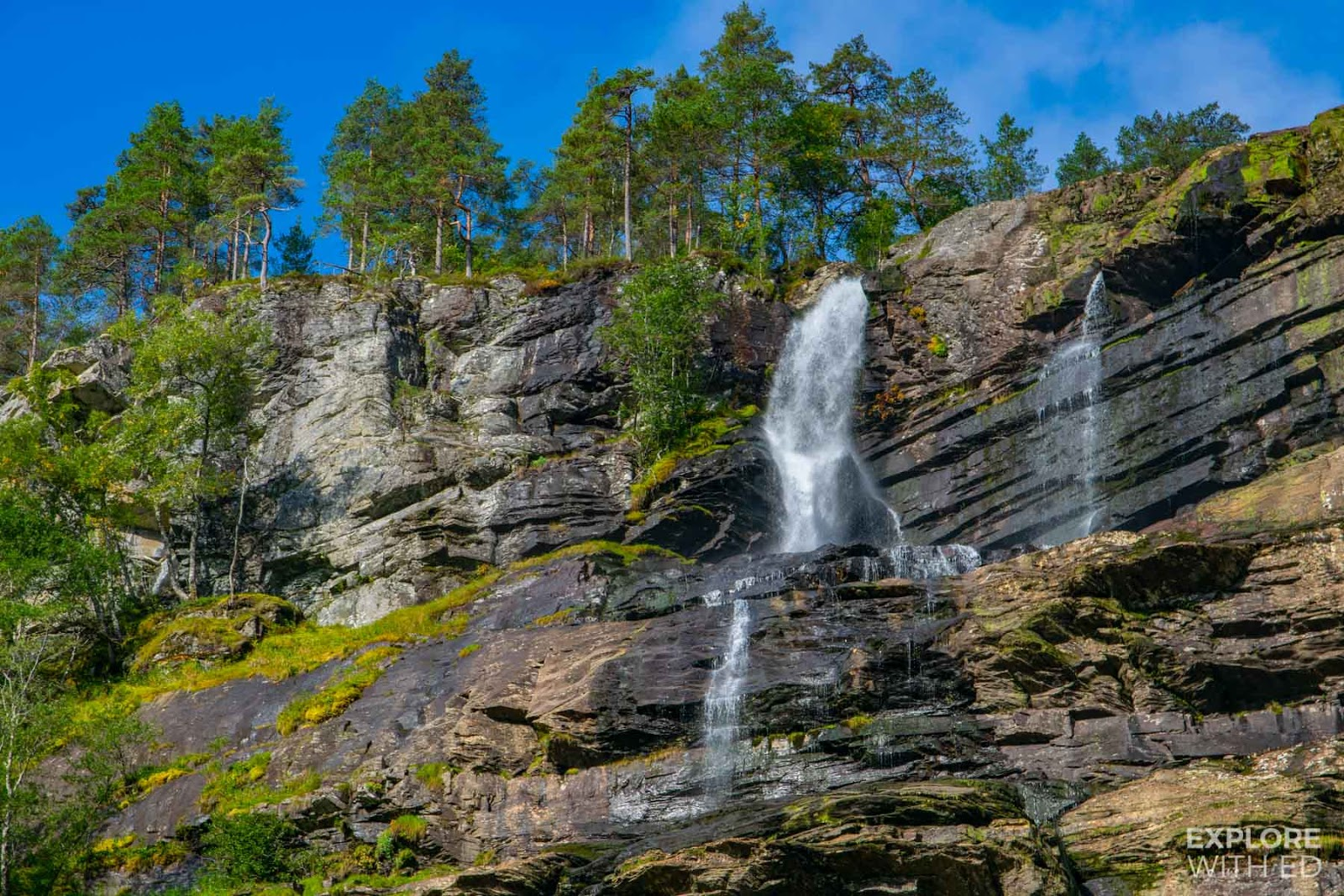 Tvinde Waterfall up close