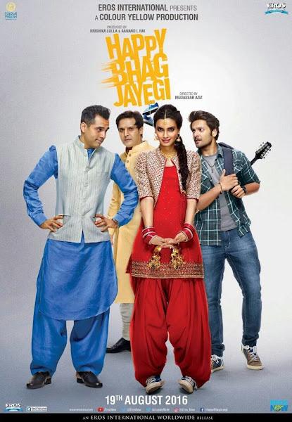 Poster of Happy Bhag Jayegi 2016 720p Hindi HDRip Full Movie Download