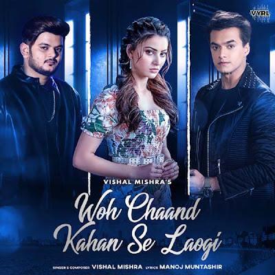Woh Chaand Kahan Se Laogi Lyrics - Vishal Mishra   Urvashi Rautela, Mohsin Khan