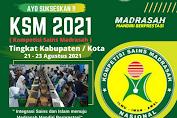 Twibbon Siap Sukseskan KSM 2021 Tingkat Kabupaten