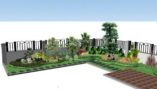 Desain Taman Surabaya - tukngtamansurabaya 28