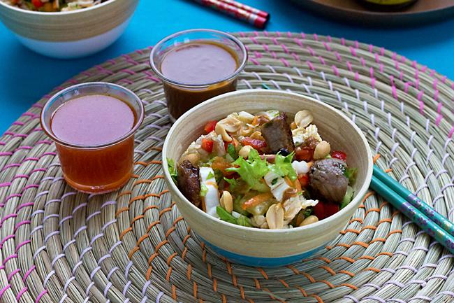 thai-beef-salad-peanut-sauce