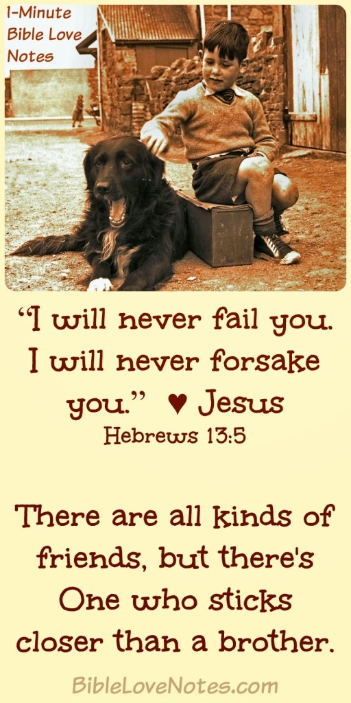 Jesus is a faithful friend, Are we faithful to meet with Jesus, Hebrews 13:5