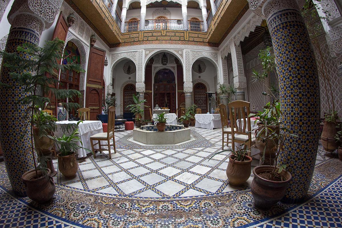 Maroko-Riad Sara