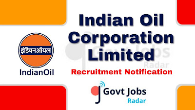 IOCL Recruitment Notification 2019, IOCL Recruitment 2019 Latest, govt jobs in India, central govt jobs , latest IOCL Recruitment 2019 update