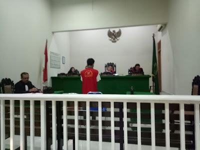 Seorang Pedagang Sate di Vonis 5 Tahun Penjara di PN Siantar Karena….