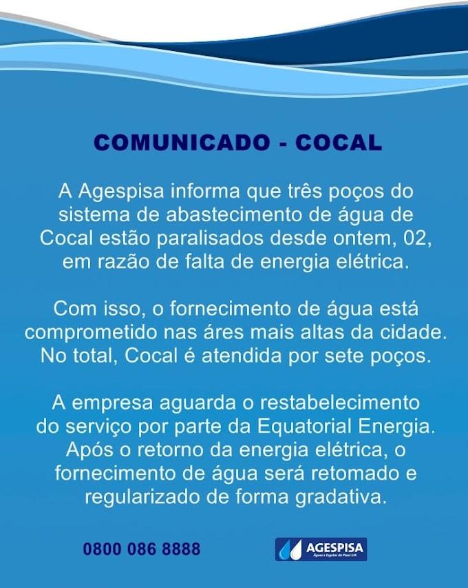 COMUNICADO AGESPISA - COCAL