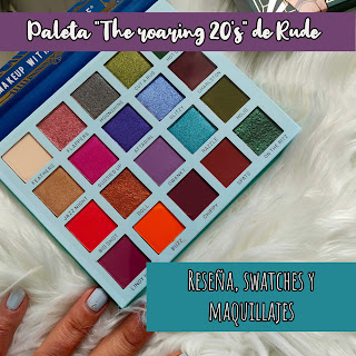 "Paleta ""The roaring 20's"" - Reckless de Rude Cosmetics"