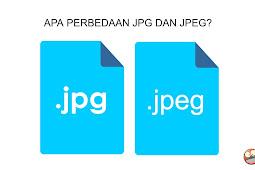 Apa perbedaan jpg dan jpeg?