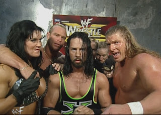 WWE / WWF Wrestlemania 15: Chyna temporarily reunited with DX