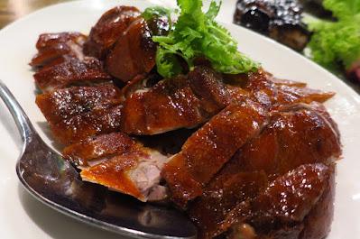 Char, roast duck