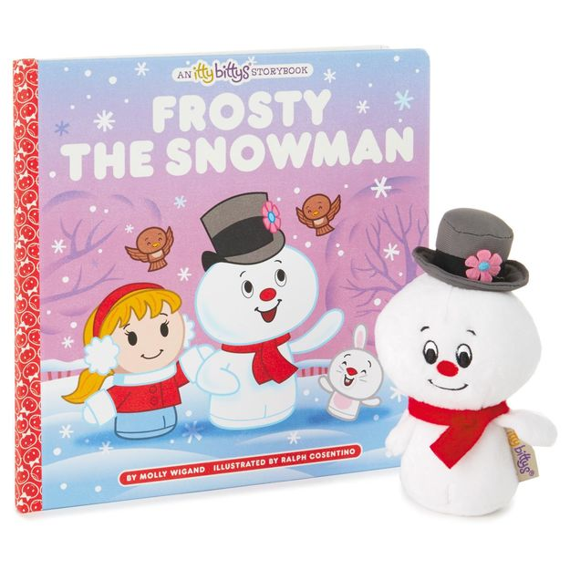 Frosty The Snowman Itty Bitty And Book Set Giveaway