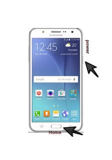 Cara Mudah Ambil Gambar Screenshot Melalui Samsung Galaxy J5