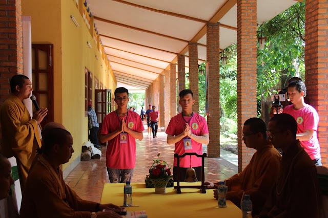 Hơn 1000 trại sinh tham dự lễ khai mạc Hội trại Tuổi trẻ Phật giáo Hệ phái Vĩnh Nghiêm lần 3 với chủ đề 'Về Nguồn' - Ảnh 1