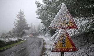 Ψυχρή εισβολή πλησιάζει την Ελλάδα - Καταιγίδες και χιόνια τις επόμενες ώρες